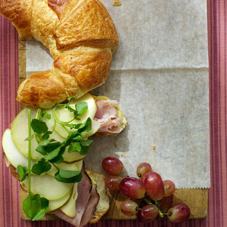 Ham and Cheese Croissant - Would make sure I got serrano ham and brie instead of muenster.