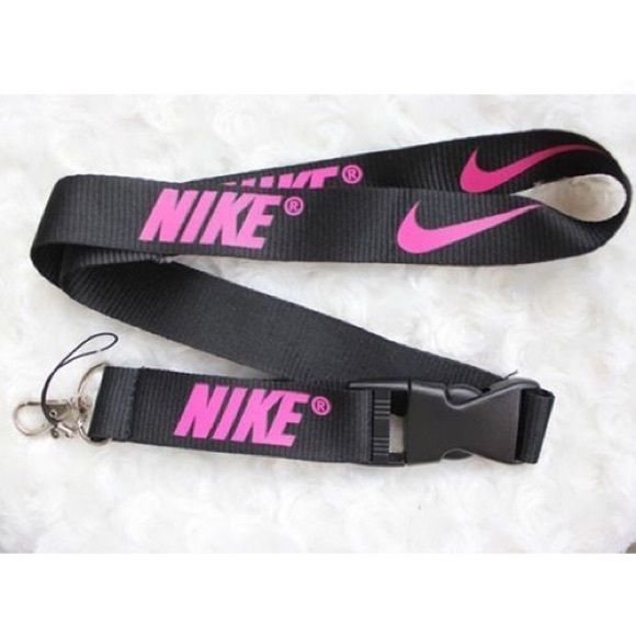 New Nike Lanyard NWOT Nike Lanyard, 2 feet long, made of polyester. Great