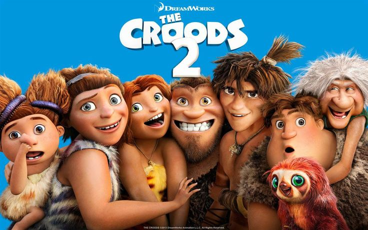 Prehistoric family The Croods are back to their old shenanigans in a dangerous, strange new world.