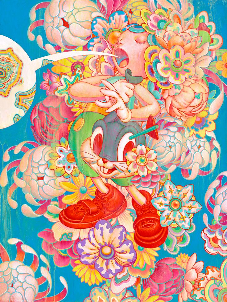 "Not only the cover image of the September 2016 issue, James Jean's painting, ""Bouquet"" has been the centerpiece of Juxtapoz x Superflat. Here's h... More"