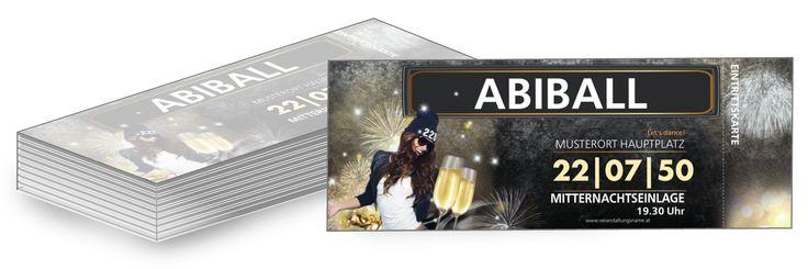 Alle erstellten Eintrittskarten-Vorlagen können Sie für Ihren Abiball Party gratis gestalten. #gratis #kostenlos #eintritt #karte #vorlagen