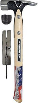 Hammers and Mallets 20763: Vaughan And Bushnell Vw18 Framing Hammer Magnetic Nail Starter With Hickory Handle -> BUY IT NOW ONLY: $71.6 on eBay!