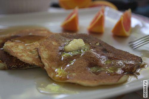 фото Апельсиновые оладьи