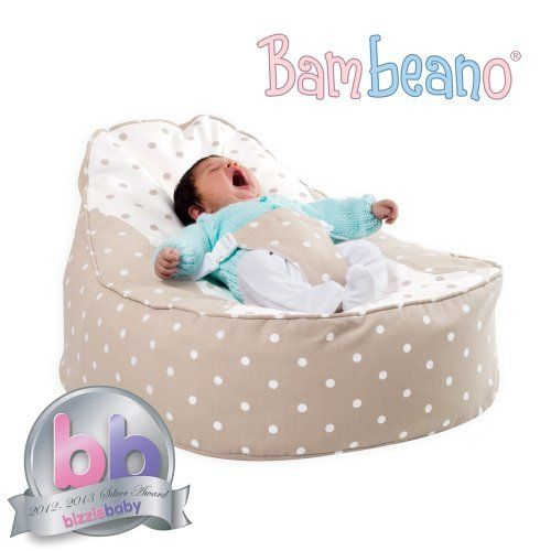 Bambeano® Baby Bean Bag Support Chair - Natural - With FREE 'My 1st Bean Bag' Cover by Bambeano®, http://www.amazon.co.uk/dp/B002C6KJWY/ref=cm_sw_r_pi_dp_6o5Vrb08436TJ