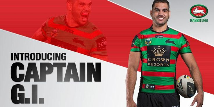 CLUB ANNOUNCEMENT: @greg_inglis has been named captain of the Rabbitohs for 2015  http://bit.ly/1BYz1bD #GoRabbitohs
