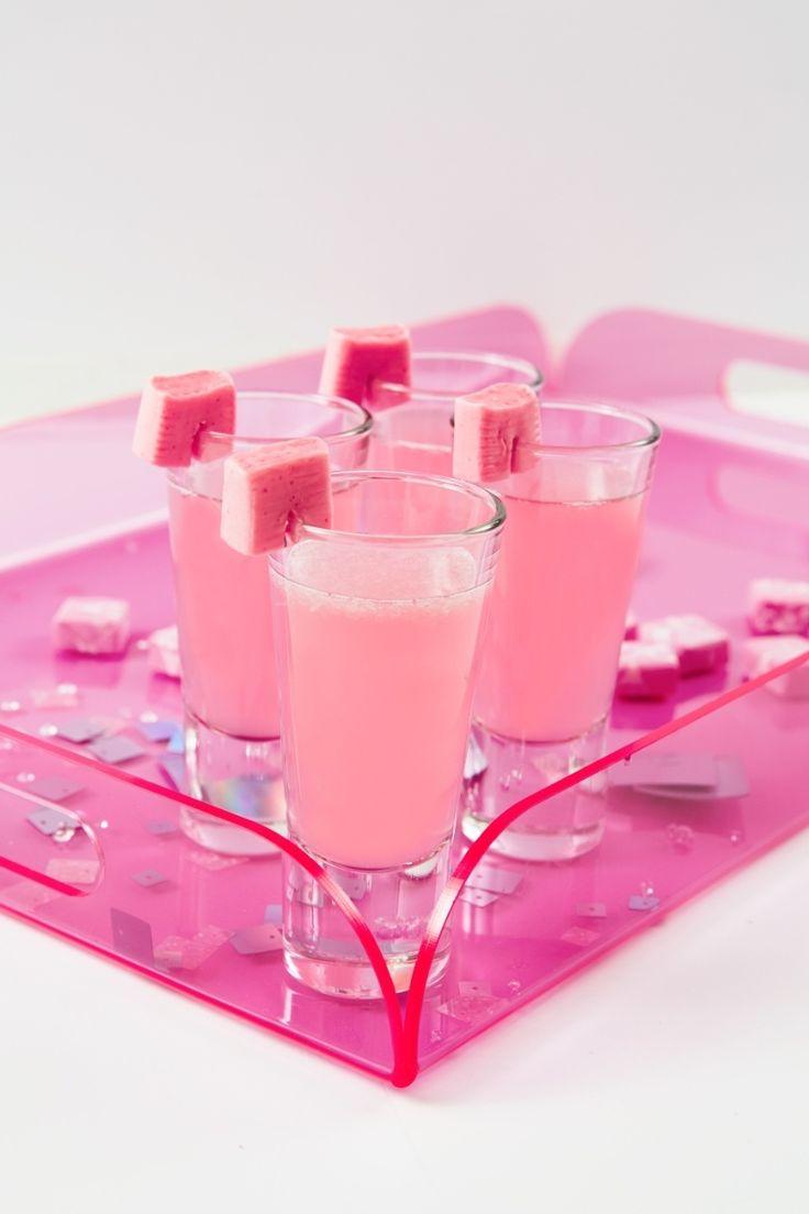 Pink Starburst Shot Recipe - How to Make a Pink Vodka Shot