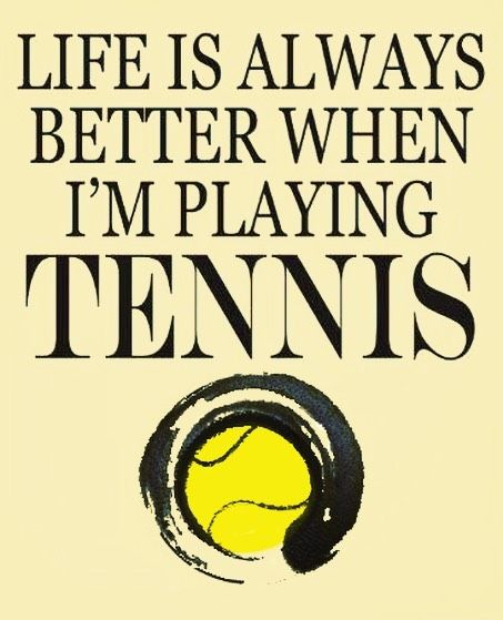 #life is #always #better when I'm playing #tennis . I #love  this #sport. It's my #life #i2p