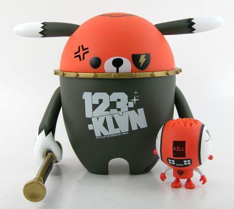 #123klan #Vinyl #Toy