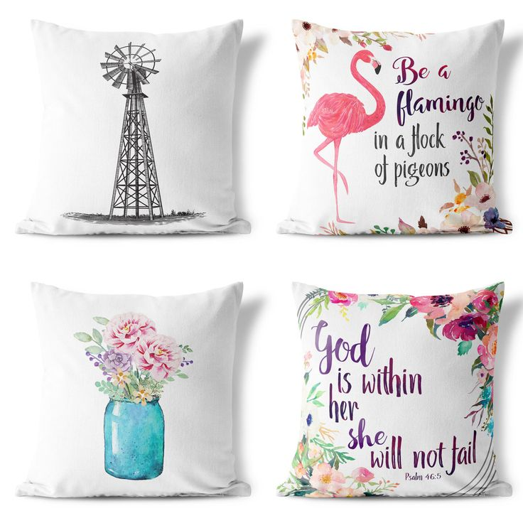 accent your sofas in a beautiful style with these rustic farmhouse pillowcases the right set