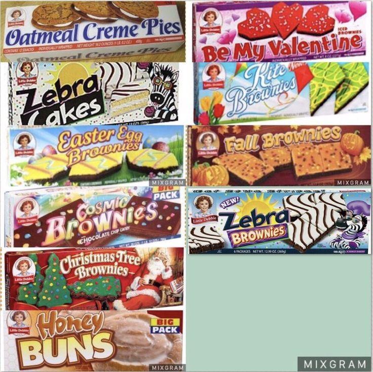Little debbie childhood snacks and desserts christmas