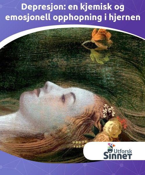 Depresjon: en kjemisk og emosjonell opphopning i hjernen   Depresjon er en kontinuerlig opphopning der dagene går sakte forbi.Der det ikke lengre er flere tårer igjen, selv om du har lyst til å gråte det ut.