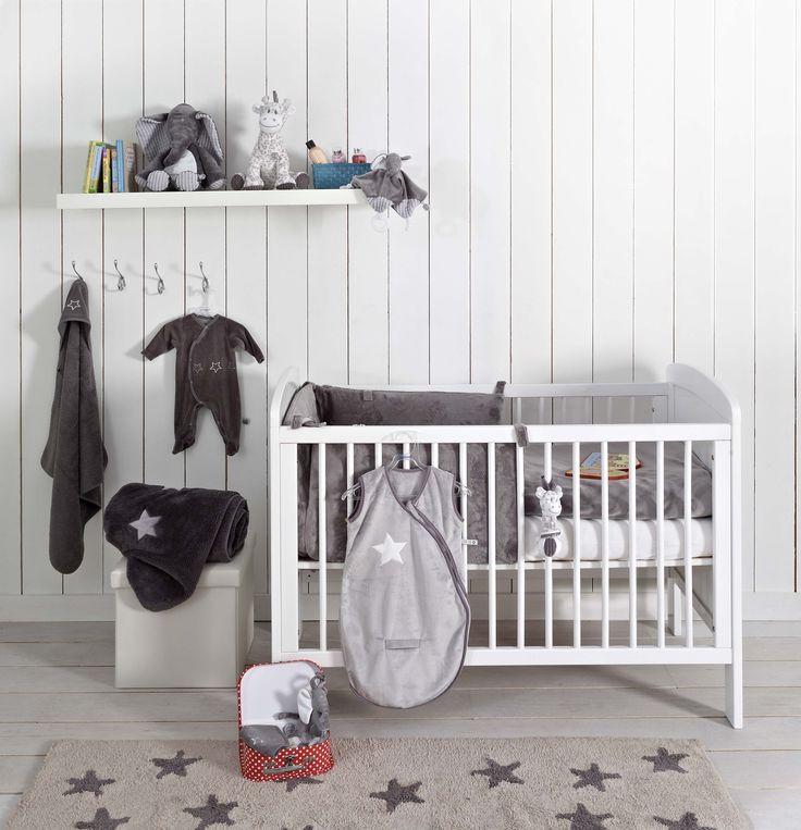 Washable rug Linen Stars Grey/ Alfombra lavable Linen Stars Grey