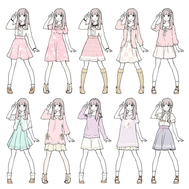 Clothing Design Ideas december commissions 20 3 by rika dono on deviantart Inushige