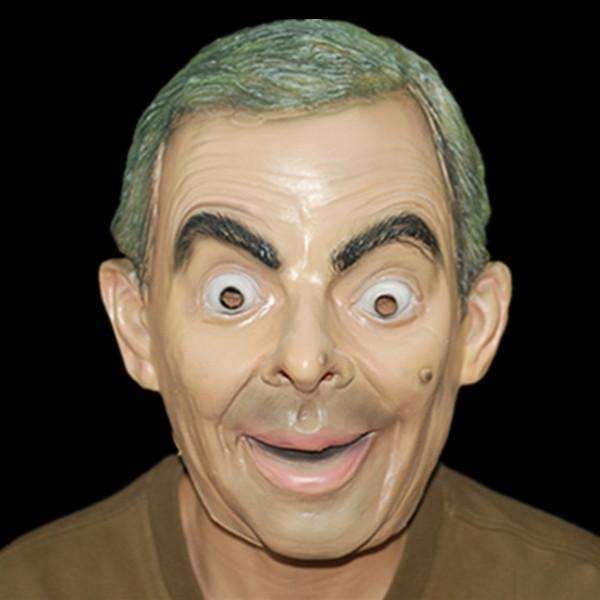 X-Merry Toy High Quality 2016 New Mask Shenzhen Mask Animal Face Head Party Mask Mr Bean Halloween Mask