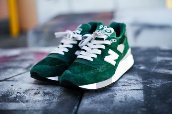 New Balance 998 Hunter Green – Made in USA