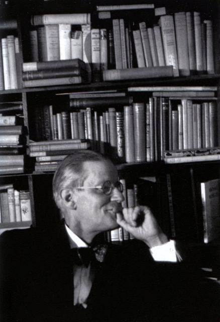 James Joyce à Paris, 1939, photo Gisèle Freund.