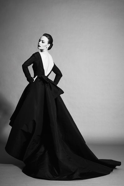 Bérénice Bejo. Photo: Sofia & Mauro for L'Express Style ('A Star in Dior').