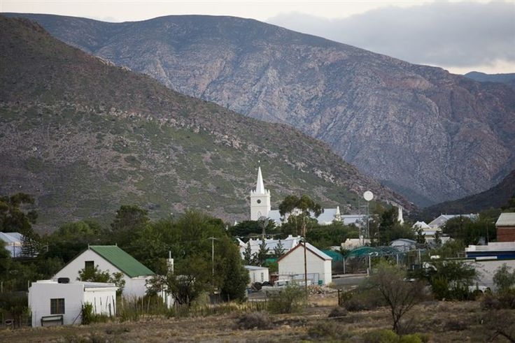 The quaint Karoo town of Prince Albert at the base of the Swartberg Pass