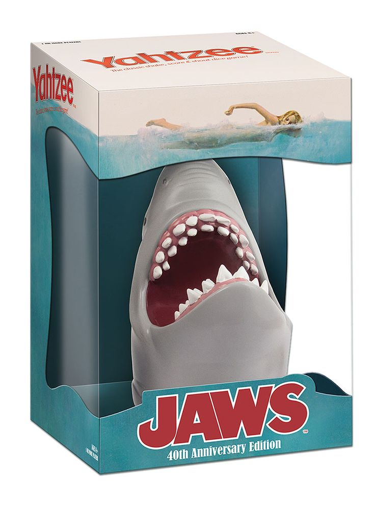 Hasbro releasing official jaws yahtzee game ihorror