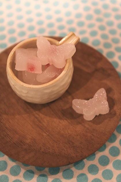 Butterfly wagashi
