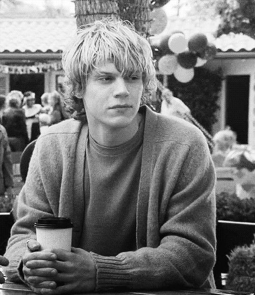 Actor Evan Peters. American Horror Story all the way!