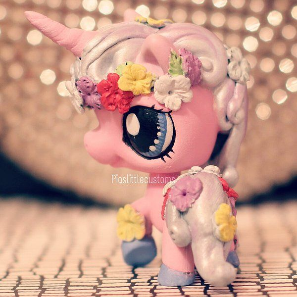 Commission: Unicorn Princess LPS custom by pia-chu on DeviantArt