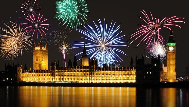 London, sparkling lights at #new_year