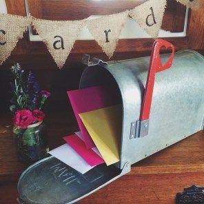 Rustic Mail Box