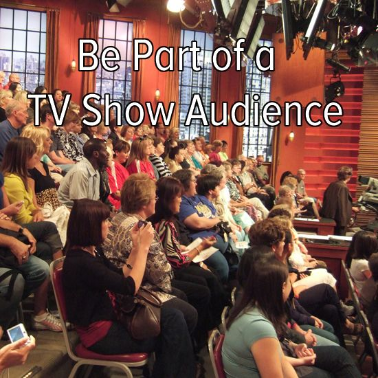 Be Part of a TV Show Audience. / Bucket List Ideas / Before I Die
