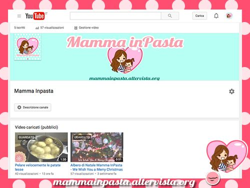 mammainpasta youtube