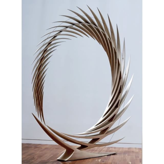 Look for #inspiration in our upcoming collection from Santiago Calatrava's sculpture - The Metamorphosis of Space. #sculpture #design - See more at: http://iconosquare.com/viewer.php#/detail/1039438621748014358_4761834