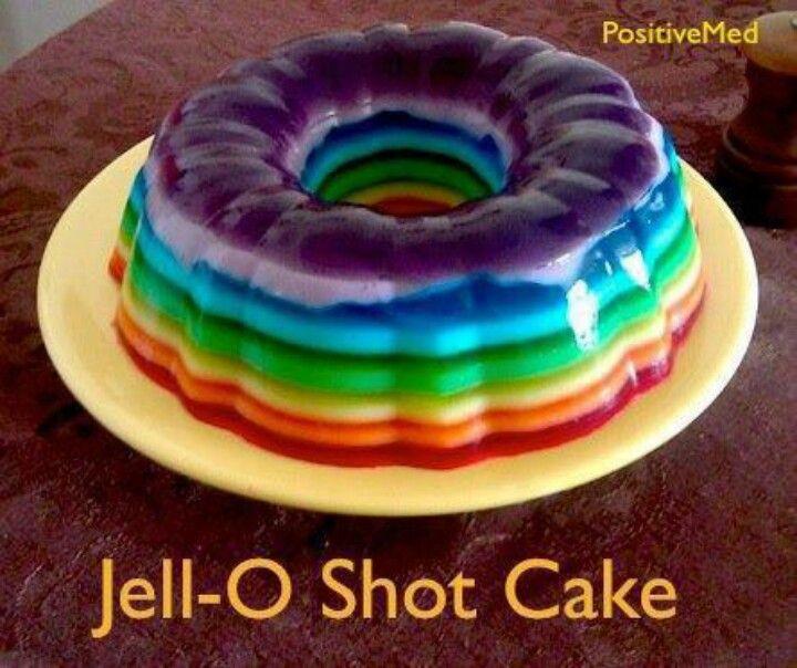 Jello shot cake
