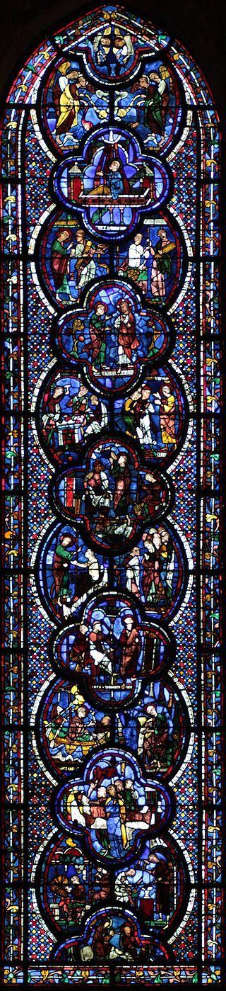 Vitrail Chartres-048 rectifié - Vitraux de Chartres — Wikipédia