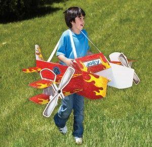 WEARABLES_STUNT PLANE USA_WEAR_001Wearable Toys, Three Wearable, Wearable Stunts Planes, Planes Usa Wear 001, Wearable Prizes, Cardboard Toys, Fun Cardboard, Kids, Wearables Stunts Planes