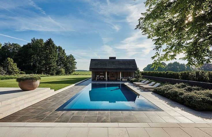 Home Inspiration Ideas » Summer outdoor ideas – beautiful swimming pool designs  by @erickuster