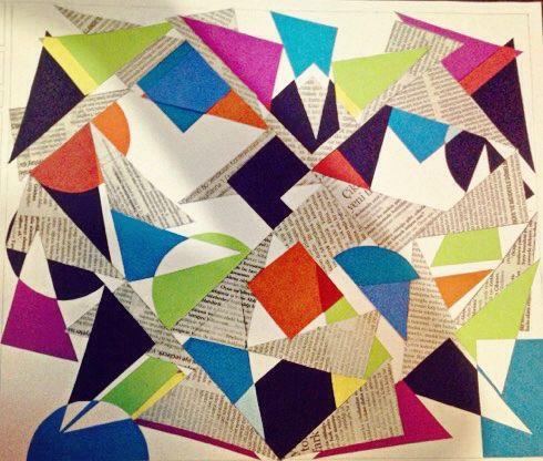 Color project / basic design / newspaper
