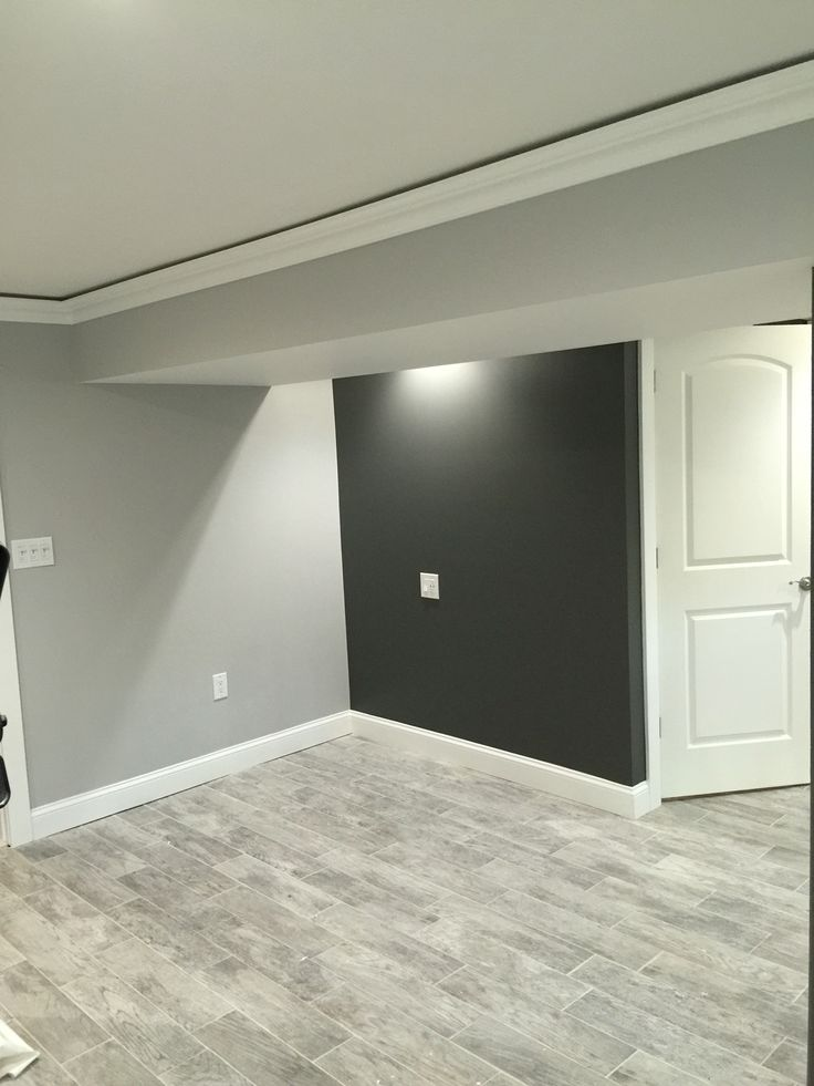 Kendall charcoal benjamin moore and stonington gray Paint colors that go with grey flooring