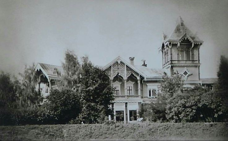"""Brasovo,the estate inherited by the Grand Duke Mikhail Alexandrovich Romanov of Russia from his older brother Georgiy when he died in 1899.   """"AL"""""""