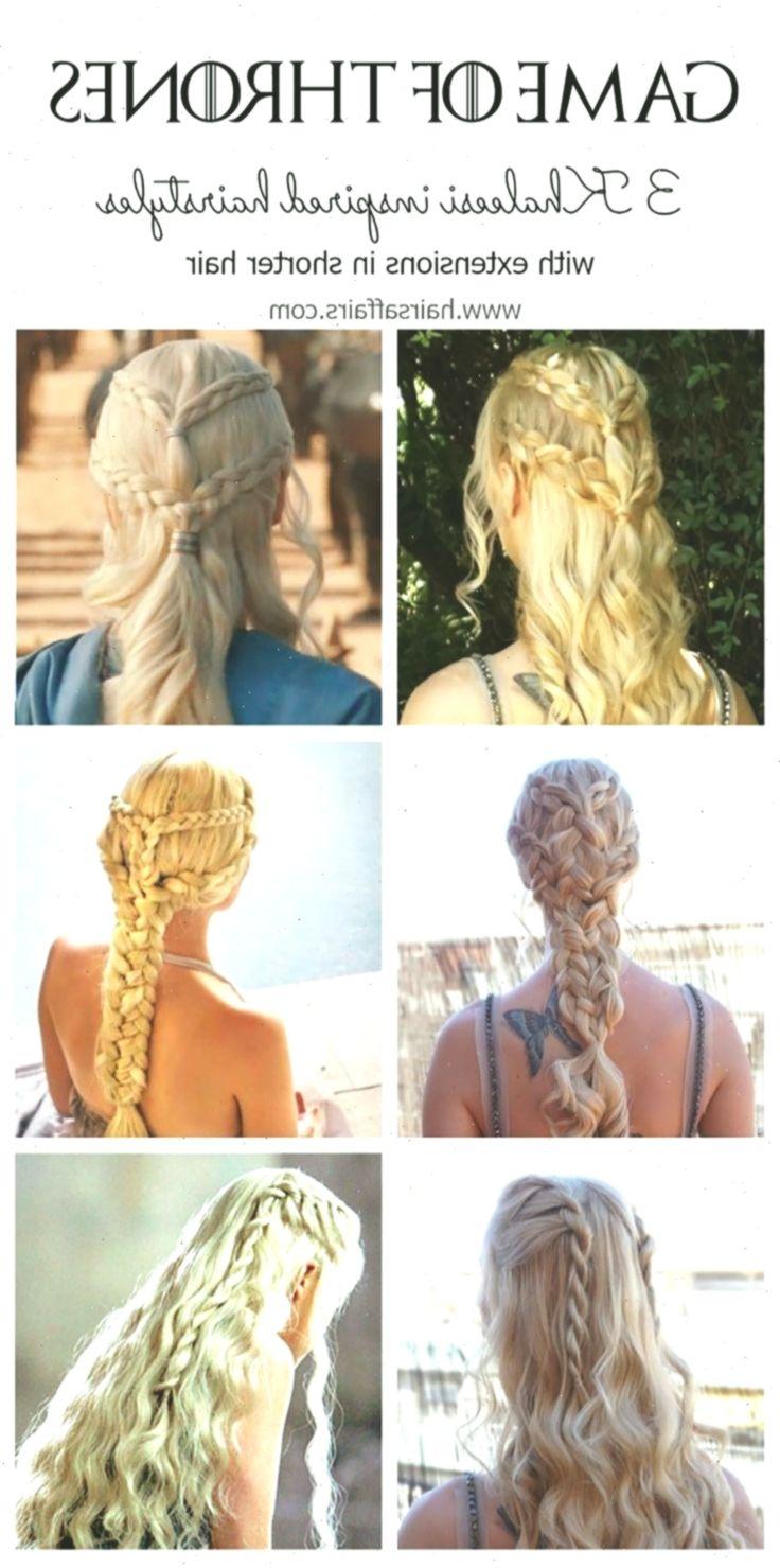 Spiel Der Throne Frisuren Tutorial Fur 3 Khaleesi Signature Looks Video Inclu Geflochtenefrisuren Braidedhairstyles In 2020 Hair Styles Hair Tutorial Khaleesi Hair