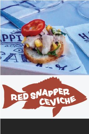 Recipe for Red Snapper Ceviche from maroscooking!