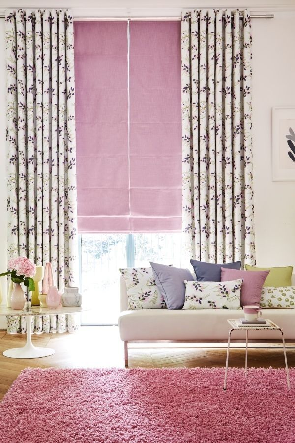 Pastels and pattern are the perfect partners, like the ones in our indigo Garden Range of Romans and Curtains exclusively designed by @Charlotte Beevor. Add to a simply decorated room to bring an interior to life. Accessories is similar shades and tones work perfectly. hillarys.co.uk