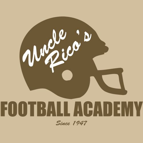 UNCLE+RICO'S+FOOTBALL+ACADEMY+T-Shirt+