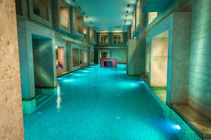 Unutrašnji bazen, hotel Rimski dvor. #travelboutique #Slovenia #Rimsketerme #putovanje #odmor #relaksacija
