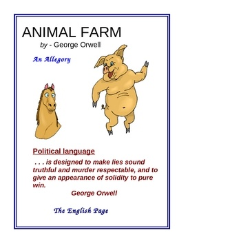 orwell s preface to the animal farm Since its publication fifty years ago, animal farm has become one of the most controversial books ever written it has been translated into seventy languages and sold millions of copies throughout the world.