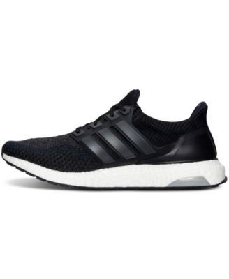 adidas Men\u0027s Ultra Boost Running Sneakers from Finish Line - Black 12
