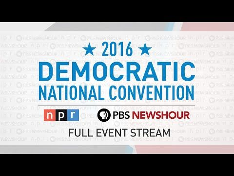 Watch the Full 2016 Democratic National Convention - Day 1 - YouTube