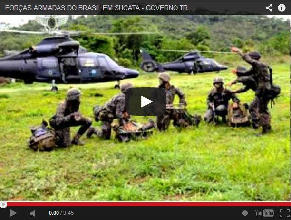 Folha Política: Associação Nacional dos Militares do Brasil alerta a nação sobre o sucateamento das forças armadas