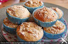Leichte Apfel-Muffins mit Haferflocken und Zimt, ein schönes Rezept aus der Kategorie Kuchen. Bewertungen: 11. Durchschnitt: Ø 4,2.