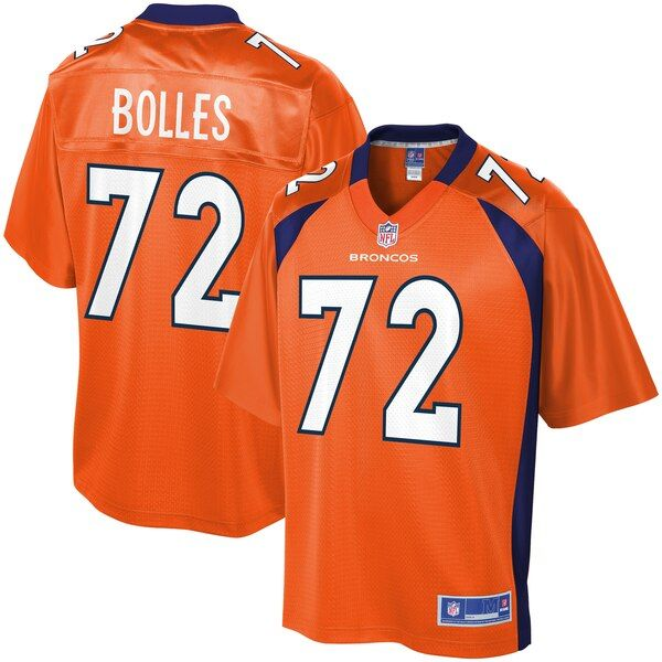 Garrett Bolles Denver Broncos Nfl Pro Line Youth Player Jersey Orange Denverbroncos Nfl Jerseys For Sale Denver Broncos Players Denver Broncos Colors