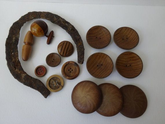 Antique Australian Horse Shoe and 14 Assorted by MyVintageDesires